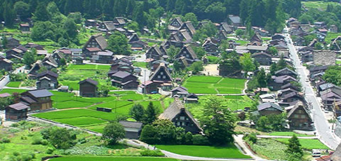 【日本文化旅遊】日本景點,中部中國(白川鄉合掌村),台中YMCA-日本文化旅遊