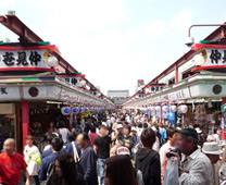 【日本文化旅遊】日本景點,關東(浅草寺),台中YMCA-日本文化旅遊浅草寺 - 仲見世