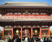 【日本文化旅遊】日本景點,關東(浅草寺),台中YMCA-日本文化旅遊浅草寺 - 寶藏門
